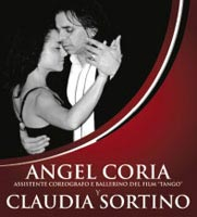 Angel & Claudia with Tango Argentino Amsterdam